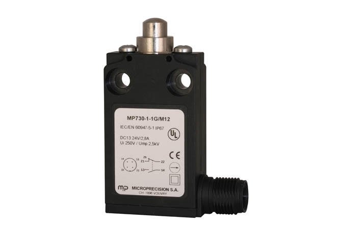 MicroPrecision MP700 schakelaar met M12 connector